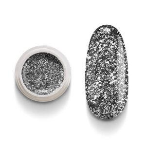Cg209 Black Flakes Color Gel Uv Led per laccature su Gel e Acrigel