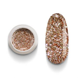 Cg211 Bronze flakes Color Gel Uv Led per laccature su Gel e Acrigel