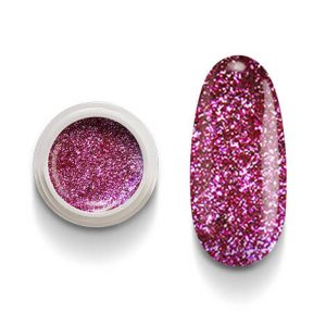 Cg213 Fuxia Flakes Gel Uv Led per laccature su Gel e Acrigel