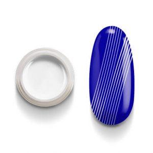 Spider gel Bianco gel filante a composizione gommosa permette di realizzare linee perfette