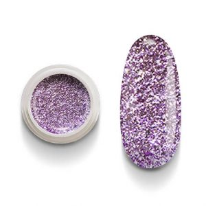 Cg214 Lilac Flakes Gel Uv Led per laccature su Gel e Acrigel