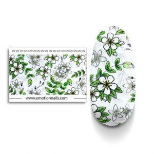 Art Foil Gelsomino composto da una striscia floreale lunga 99 cm